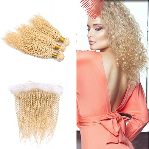 Cloud-Hair-Blonde-613-Kinky-Curly-Hair-Weaves-3Pcs-With-Ear-To-Ear-Frontal-Brazilian-Virgin-Afro-Curly-Hair-Weft-With-Top-Closure-13×4-With-Baby-Hair