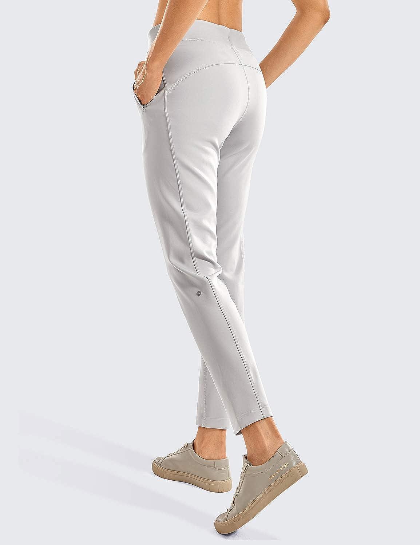 CRZ YOGA Womens Sports Pants Workout Casual Pants Drawstring Sweatpants with Pockets