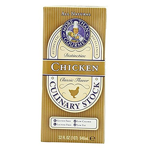 - More Than Gourmet Chicken Culinary Stock, 32-Ounce Units (Pack of 12)