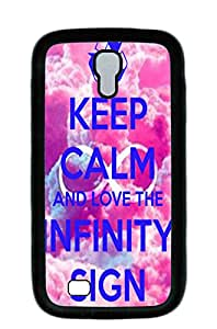 Mldierom fashion picture hard shell black case for Galaxy S4 infinite love 12