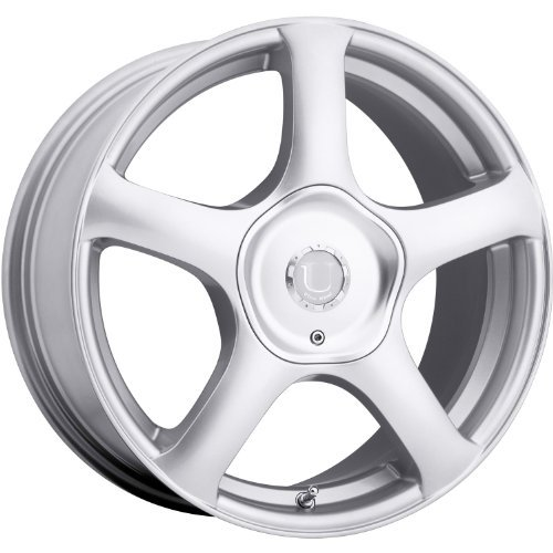 Ultra Alpine 16 Silver Wheel / Rim 5x4.5 & 5x5 with a 32mm Offset and a 73 Hub Bore. Partnumber 402-6725+32S