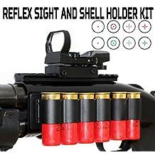 Mossberg 500 12 gauge Shotgun Tactical Reflex Sight Shell Holde Kit from TRINITY