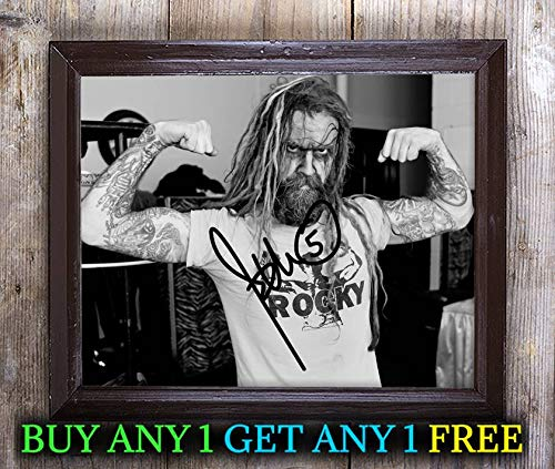 Rob Zombie Halloween Autographed Signed 8x10 Photo Reprint #43 Special Unique Gifts Ideas Him Her Best Friends Birthday Christmas Xmas Valentines Anniversary Fathers Mothers -