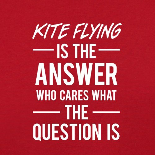 Red Is Bag Answer Retro Flying Kite The Flight AqazAPB
