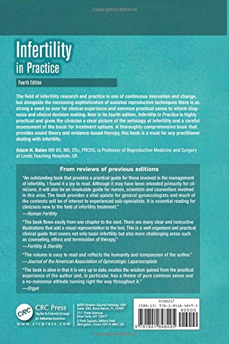 Infertility in Practice, Fourth Edition (Reproductive Medicine and Assisted Reproductive Techniques Series)