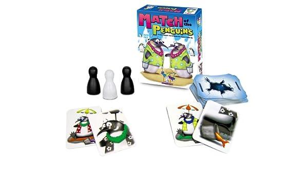 Gamewright Match de los pingüinos Juego: Amazon.es: Juguetes y juegos