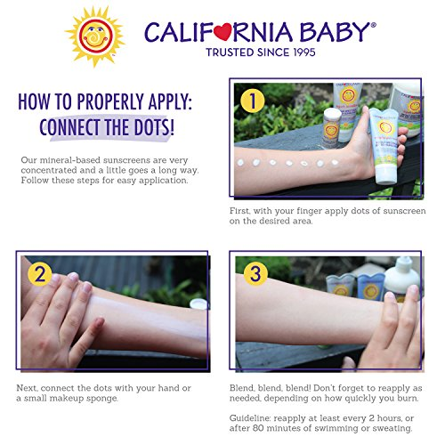 California Baby Broad Spectrum SPF 30+ Sunscreen 2.9 oz - Calendula