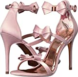 Ted Baker Women's Nuscala Stiletto Sandal Light Pink Textile 7.5 M US