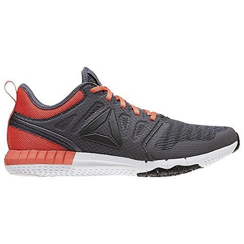 Reebok Bd5366, Zapatillas de Trail Running para Mujer Gris (Ash Grey / Fire Coral / Black / White)