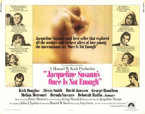 (Jacqueline Susann's Once is Not Enough - Authentic Original 28