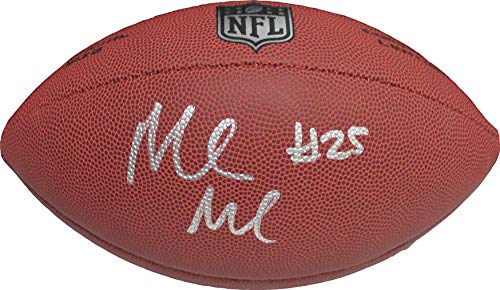 Authentic Marlon Mack Autographed Signed NFL Football - Indianapolis Colts RB -Schwartz Sports COA