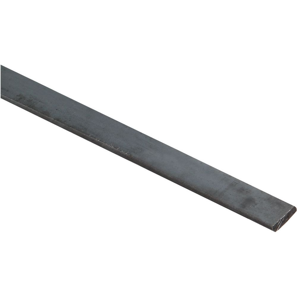 National Hardware N316-158 4062BC Solid Flat in Plain Steel, 1/2'' x 36''