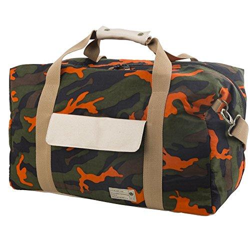 HEX Drifter Duffel Bag (Orange Camo - HX2070-ORCA)