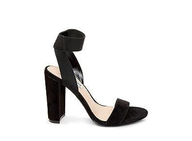 fe4be030f7a Steve Madden Women s Celebrate Heeled Sandal Black 5 M US