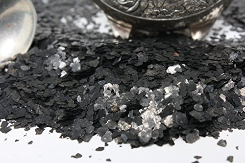 Black Natural Mica Flitter Flakes - One Pound Bulk Pack - #311-4395 by Meyer Imports (Image #4)