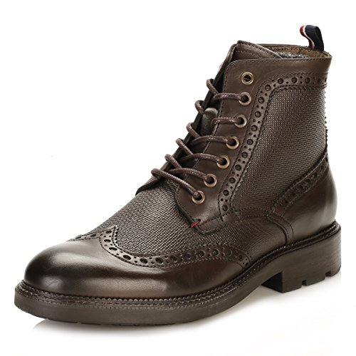 Tommy Hilfiger Hommes Coffee Bean 5A2 Brogue Bottes