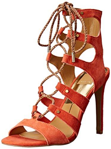 - Dolce Vita Women's Howie Gladiator Sandal, Red/Orange, 7.5 M US