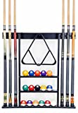 Iszy Billiards Cue Rack Only - 6 Pool Cue