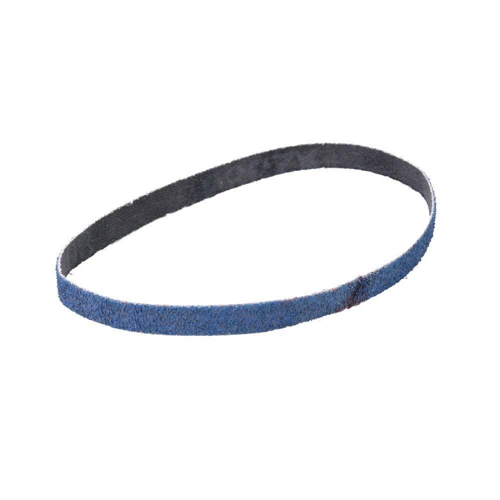 120# Sanding Belt Blue 40#//60#//80#//120# Optional 10pcs 330x10mm Zirconium Corundum Abrasive Belt Assortment Set Abrasive Band for Polishing and Grinding of Wood Leather Metal