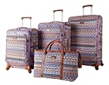 Nicole Miller Chantelle Collection 4-Piece Luggage Set: 28