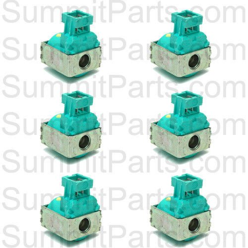 Original elbi water valves the best amazon price in savemoney 6pk original elbi green water valve coil 220v for wascomat washers 686021 ccuart Images