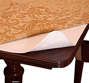 "Violet Linen Deluxe Cushioned Heavy Duty Table Pad, 52"" x 108"""