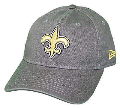 New Era New Orleans Saints NFL 9Twenty Core Classic Graphite Adjustable Hat by New Era