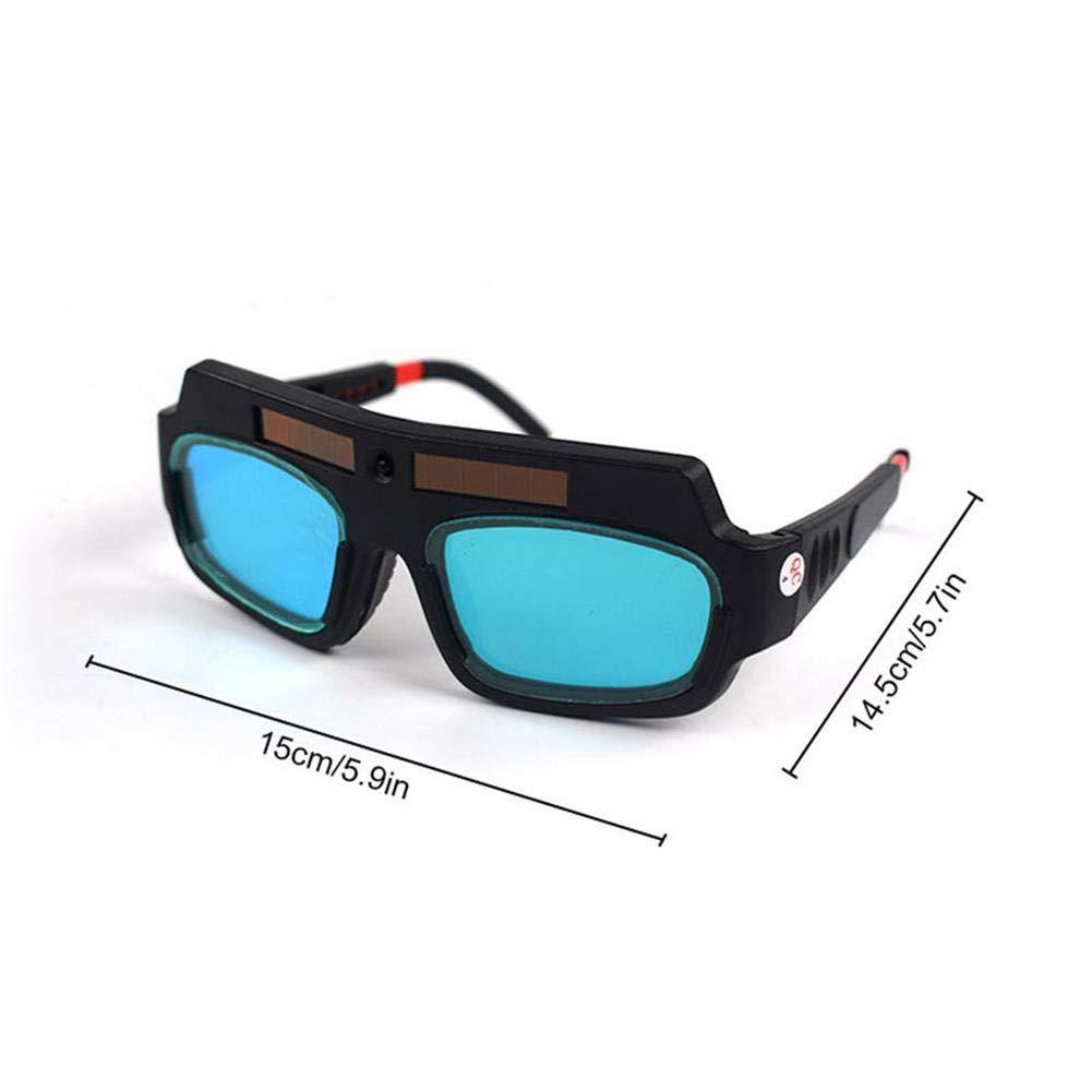 Heylas Schutzbrille Einstellbare Überbrille auch für Brillenträger Für Elektroschweißen, Allgemeinschweißen, Argon-Lichtbogenschweißen, Polieren usw. Blendschutzbrille mit hoher Kontrastverstärkung