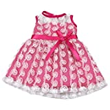 """AOFUL Baby Doll Clothes Pretty Dress Fits 16"""" American Girl Dolls and More"""