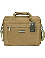 Videng Polo POLO VIDENG Laptop Bags Extended 15.6 Briefcase Business Shoulder Bag Mens Handbag