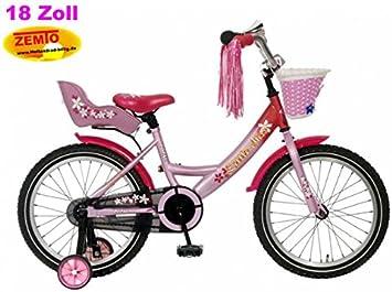Bicicleta holandesa para niña 18 pulgadas poza Little Miss Color ...