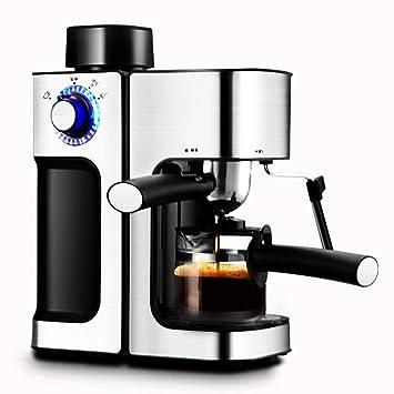 Cafetera/Máquina Hogar Comercial Semiautomático Pequeño Negro 800W / 220V / 0.24L Función Antigoteo: Amazon.es: Hogar