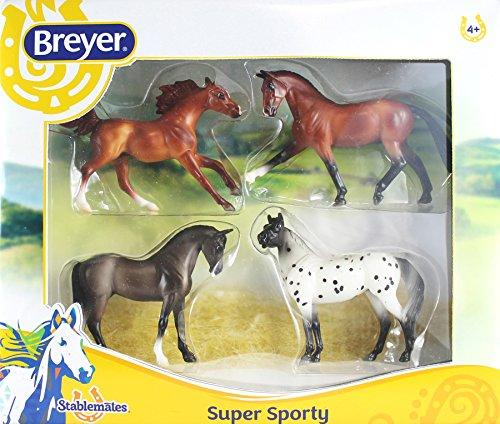 Breyer Stablemates Super Sporty Four Horse Set for sale  Delivered anywhere in USA