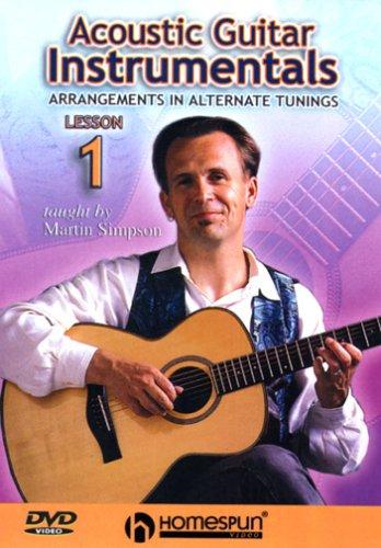 DVD-Acoustic Guitar Instrumentals #1-Arrangements In Alternate Tunings