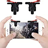 Qoosea PUBG Mobile Game Controllers Triggers Gamepad L1 R1 Sensitive Shoot Aim Joysticks Physical Buttons for PUBG/Fortnite / Knives Out/Rules of Survival for 4.5