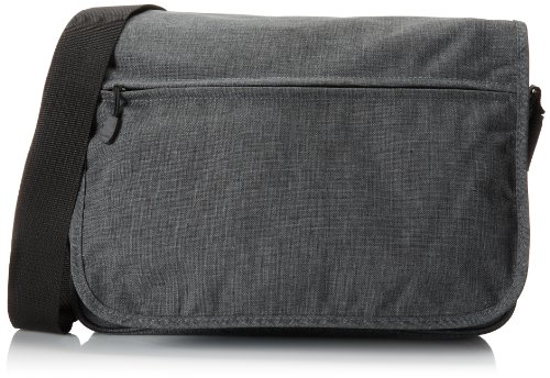 Everest Casual Laptop Messenger Briefcase, Charcoal, One Size ()