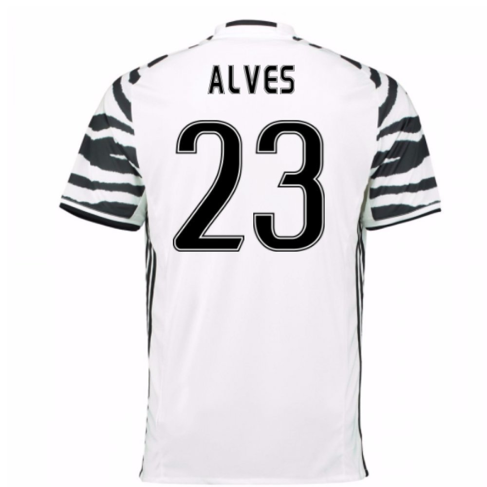 2016-17 Juventus 3rd Football Soccer T-Shirt Trikot (Dani Alves 23) - Kids