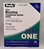 Best Clear Nicotine Patches - RUGBY Clear Nicotine Transdermal System Patch, Stop Smoking Review