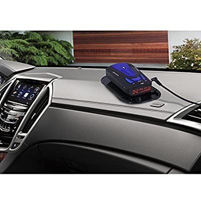 BESWORLDS New Radar Detector, Car Speed Laser Radar Detector with Voice Alert and Alarm System, Auto Policy Laser Radar Detector Kit for Cars (Blue): Car Electronics