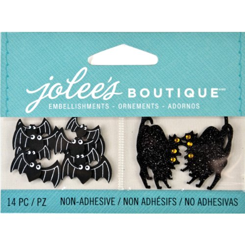 Jolee's Boutique Scrapbooking Embellishments, Cats and (Making Halloween Decorations)