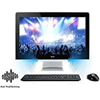 Acer Newest Aspire Gaming All-in-One 23.8 inch Full HD Flagship Desktop | Intel i5-6400T Quad-Core | NVIDIA GeForce 940M | 16GB | 256GB SSD | DVD +/-RW | Wireless Keyboard and Mouse | Windows 10