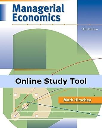 amazon com electronic study guide for hirschey s managerial rh amazon com Civics and Economics Study Guide study guide for managerial economics baye