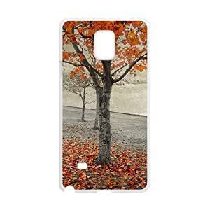 Autumn Trees White Phone Case for For Iphone 5/5S Cover