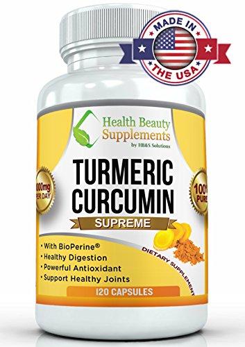 -La curcumine curcuma-curcuma ULTRA force avec Bioperine, curcuma bio or formule au poivre noir