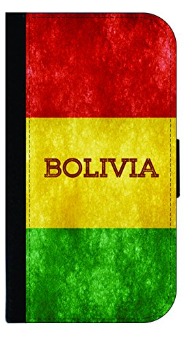 I9300 Snap (Bolivian Grunge Flag - Wallet Style Flip Phone Case Compatible with s3/s4/s5/s6/s6edge/s7/s7edge/s8/s8Plus - Select Your Compatible Phone Model)