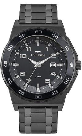 Relogio Technos Masculino Performer Preto - 2115mqn 4a  Amazon.com ... 65efbc1115