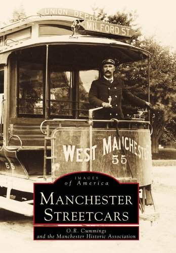 New Electric England System - Manchester Streetcars  (NH) (Images of America)