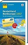 ADAC Campingführer Deutschland und Nordeuropa 2017: mit herausnehmbarer Planungskarte