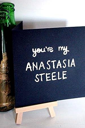 EKone - eres mi Anastasia Steele - amor tarjeta: Amazon.es ...