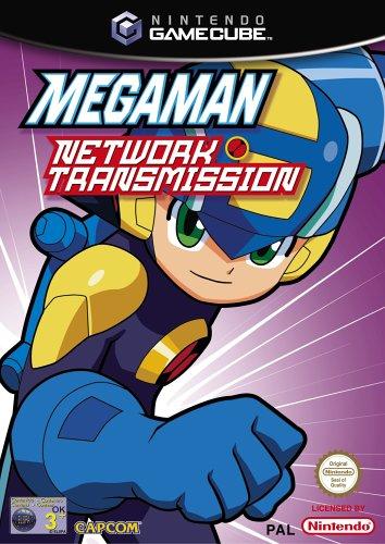 Megaman Network Transmission Nintendo GameCube PAL